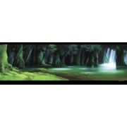 Forest 950-203 of 950 piece Studio Ghibli background art series Shishi God (japan import)