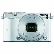 Nikon 1 J5 Mirrorless Camera w/ 10-30mm PD-ZOOM Lens (White)