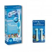 Periuta electrica copii GTS1000K Blue + Capete periuta electrica pentru copii blue Dr.Mayer