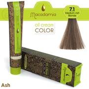 Farba za kosu MACADAMIA 100ml - 7.1 Pepeljasto plava