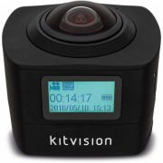 Kitvision actioncamera immerse 360 panorama fhd 1440p wifi