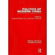 Politics of Modern China by Yongnian Zheng