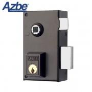 Cerradura de sobreponer para manivela AZBE 56B Redondo, 60 mm, Izquierda