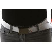 "Cintura regolabile design ""Keep Locket"" con teschi"