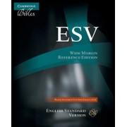 EsSVWide Margin Reference Bible, Black Edge-Lined Goatskin Leather ES746:XME by Baker Publishing Group