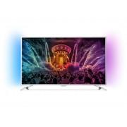 Televizor LED Philips 43PUS6501/12, 108 cm, Smart, Ultra HD 4K, Android, Argintiu