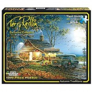 White Mountain Puzzles Autumn Traditions -1000 Piece Jigsaw Puzzle
