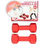 Gymstick Dumbbells Neoprene Set+DVD
