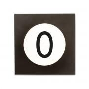 Design Letters - Hook2 Letter Wandhaken, O
