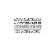 BMX Intense Sticker Set Wit