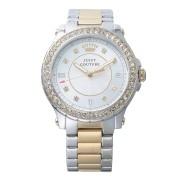 【52%OFF】PEDIGREE ラウンド ビジュー ステンレスベルト ウォッチ ゴールド/シルバー ファッション > 腕時計~~レディース 腕時計