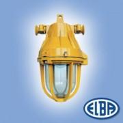 Robbanásbiztos lámpa AI 02 20W II 2G Exde II B T6 izzóval IP54 Elba