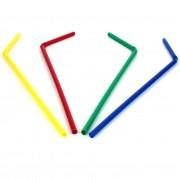 Pajita Flexible color Metalizado Ø5mm 23cm (10.000 Uds)