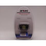 Arcas lanterna led de cap 1 watt 80 lumeni 4 functii baterii incluse