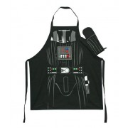Darth Vader schort en ovenwant in glazen pot Star Wars