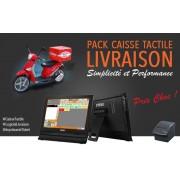 Pack Caisse Enregistreuse Tactile Livraison Pizzeria