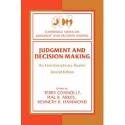 Judgment and Decision Making by Terry Connolly