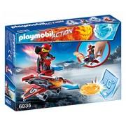 Playmobil 6835 - Fire-Robot con Space-Jet Lanciadischi