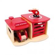 Small Foot Company - 2730 - Figurine Pompier - Caserne De Pompiers