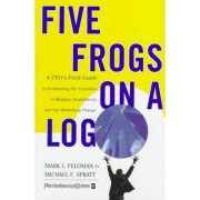 Five Frogs on a Log by Mark L. Feldman