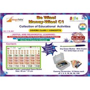 Activity Kit for Learning of Class 1 Mathematics - Money. Collection of Educational ActIvities to Learn Money Skills, Currency and Number Operations for Class 1 Kids. Be Wise! Money-wise!
