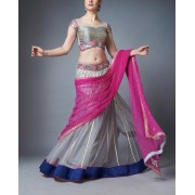Mirror Work Lehenga Set