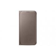 Etui Samsung Flip Wallet PU Złote do Galaxy S6 EF-WG920PFEGWW