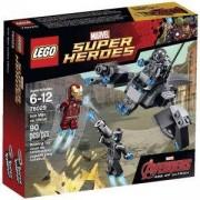 Конструктор ЛЕГО Марвел Супер Хироус - Железният човек срещу Ултрон, LEGO Marvel Super Heroes, 76029