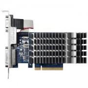 Видеокарта ASUS GeForce GT 710, 1GB, GDDR3, 64 bit, D-Sub, DVI-D, HDMI, ASUS-VC-GT710-1GDR3-SL-BRK