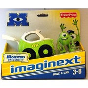 Disney / Pixar Monsters University Imaginext Figure & Vehicle 2-Pack Mike & Car