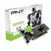 PNY GeForce GT 740 - 1 GB DDR3 - PCI Express 3.0 - Scheda grafica (GF740GT1GEPB)