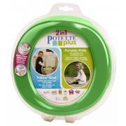 Oliţă de călătorie/reductor WC Potette Plus 23012 verde-albastru