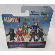 Minimates Captain America: Civil War Iron Man Mark 46 and Black Panther Figure 2-Pack