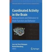 Coordinated Activity in the Brain by Jose Luis Perez Velazquez