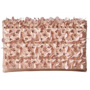 Oscar de la Renta Petite Evening Bag Soft Pink