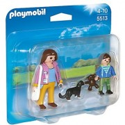 PLAYMOBIL Mother with School Child Duo Pack