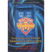 Lot De 2 Jeux : Doctor Who - The Collectable Trading Card Game ( 2 X 75 Card Sarter Deck - Avec Doublons)
