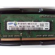 Samsung 2GB DDR3 Memory So-Dimm 204pin 1Rx8 Pc3-10600s 1333mhz M471b5773chs-ch9