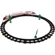 Auto Run Express Train Set With Track For Kids