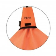 【セール実施中】N-ritタオル オレンジ 38542 吸収 速乾 抗菌加工