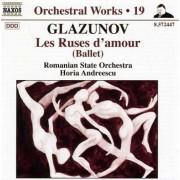 Glazunov - Orchestral Works Vol.19 (0747313244775) (1 CD)
