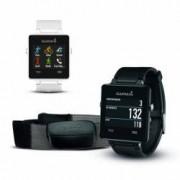 Garmin vivoactive GPS-Smartwatch mit Brustgurt Farbe weiss
