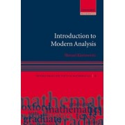 Introduction to Modern Analysis by Samuel Kantorovitz