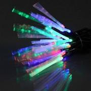 Eminza Ghirlande luminose Fibra ottica Elettra multicolor