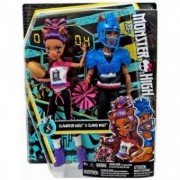 Monster High Winning Werewolves Clawdeen Wolf and Clawd Wolf DXY10