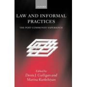 Law and Informal Practices by Professor of Socio-Legal Studies Denis Galligan