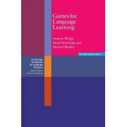 Games for Language Learning by Andrew Wright