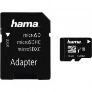 Hama Speicherkarte Micro SecureDigital XC, 16 GB