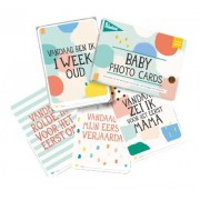 Milestonecards babycards Over the Moon NL