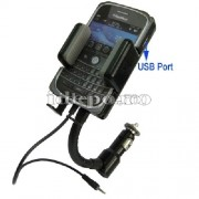 CAR KIT HANDSFREE BLACKBERRY MODULATOR FM